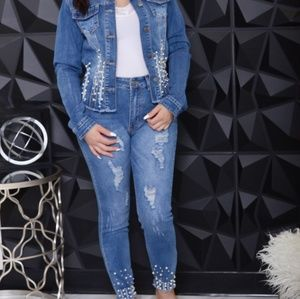 Denim and Pearl Jeans
